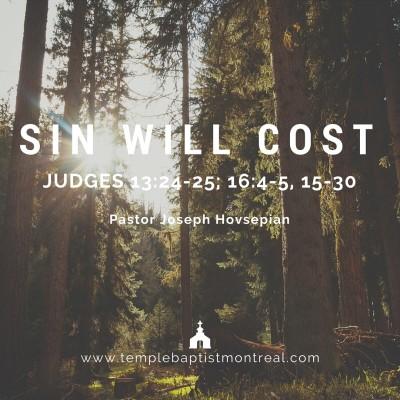 Sin Will Cost