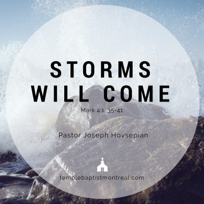 Storms Will Come