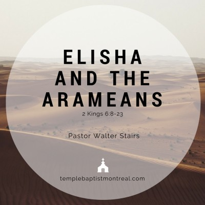 Elisha and the Arameans