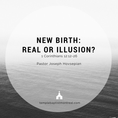 New Birth: Real or Illusion