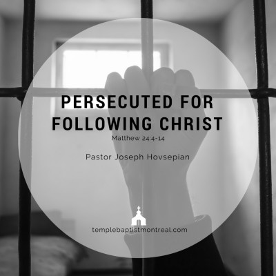 Persecuted for Following Christ
