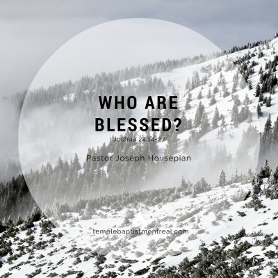 Who Are Blessed?