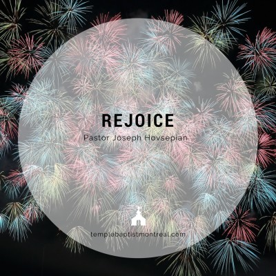 Rejoice!