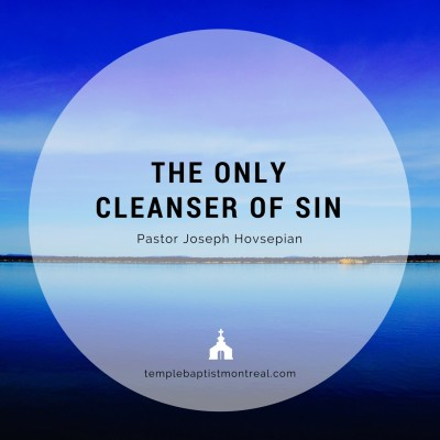 The Only Cleanser of Sin