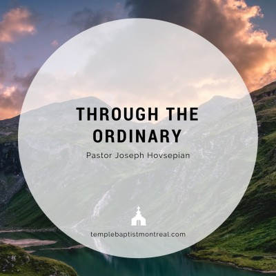 Through the Ordinary