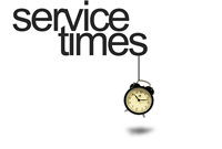 Click for service times