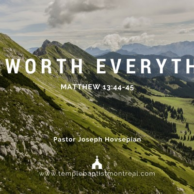 It's Worth Everything