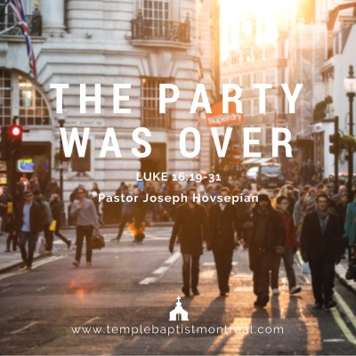 The Party Was Over