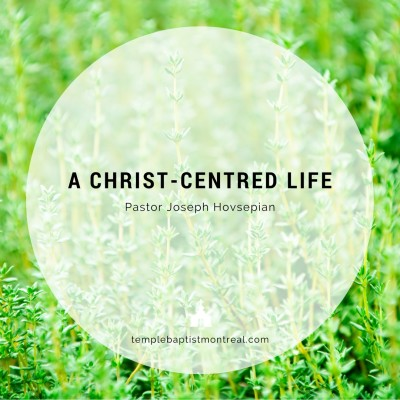 A Christ-centred LIfe
