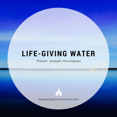 Life-giving Water