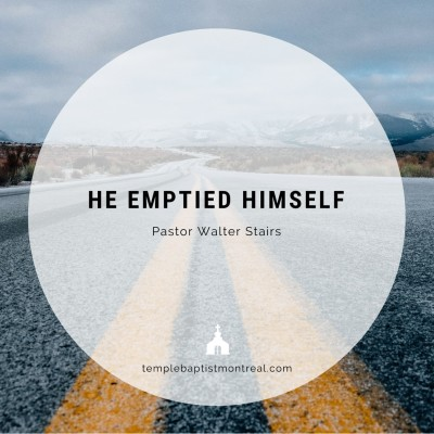 God Emptied Himself