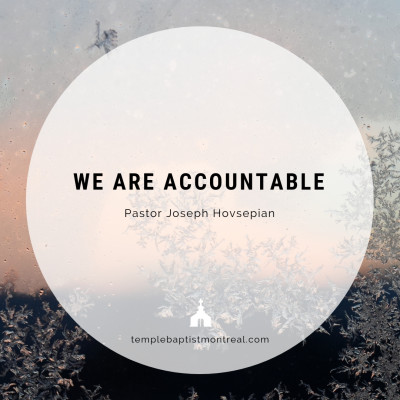 We Are Accountable