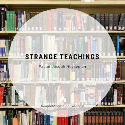Strange Teachings