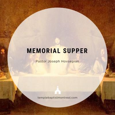 Memorial Supper