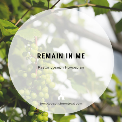 Remain in Me