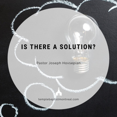 Is There a Solution?